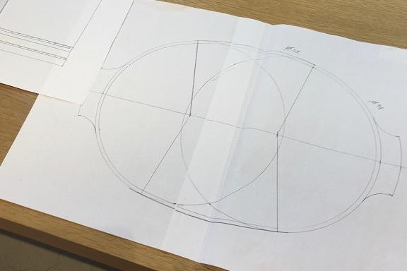 桶製作の図面