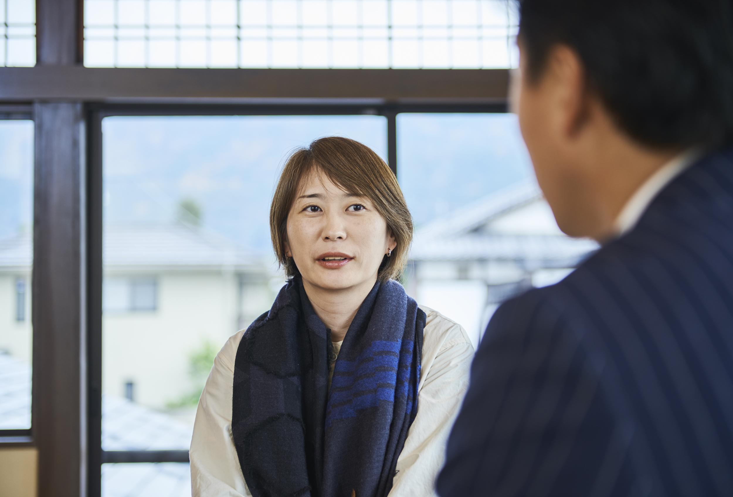 テキスタイルデザイナー梶原加奈子氏
