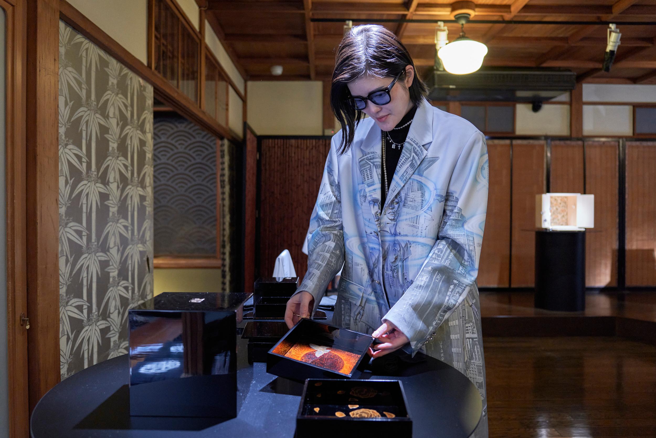 庄司夏子さんとお誂えのケーキボックス